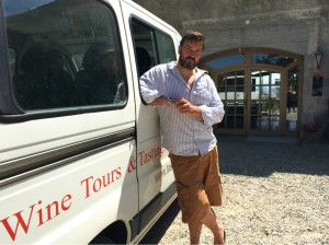 Taste du Languedoc Wine Tours Operator, Matthew Saunders