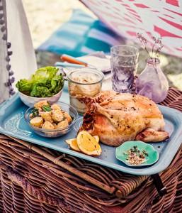 Gourmet picnic.