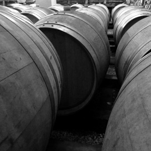 Chateau Capitoul Wine Barrels