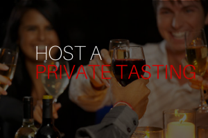 Host a private, on-location wine tasting party.