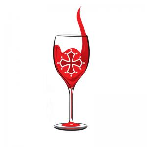 Taste du Languedoc Wine Tours Wine Glass Icon.