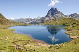 Pyrenees mountains.