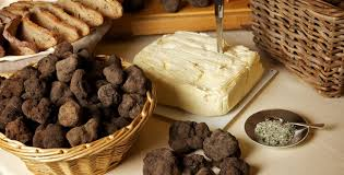 Cheese and truffles